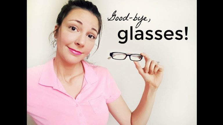How to get rid of glasses this season